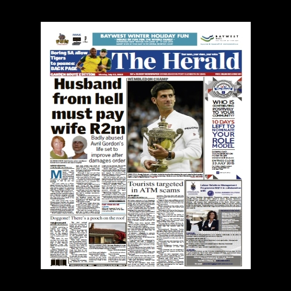 Husband From Hell - The Herald 2015