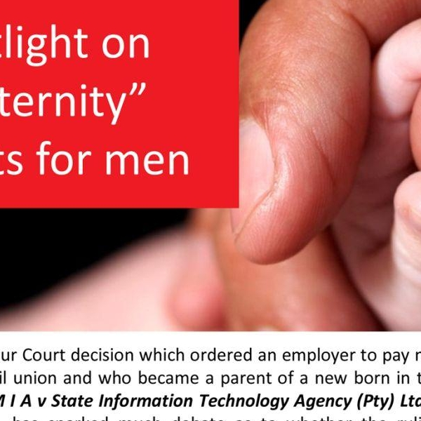 Maternity Rights for Men